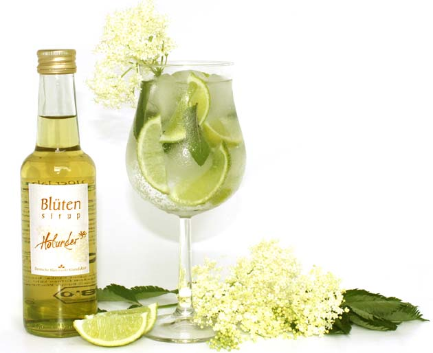 Hugo - der Sommer-Blüten-Cocktail